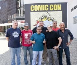 Pepe Caldelas con autores de Metrópoli Comic Con 2014