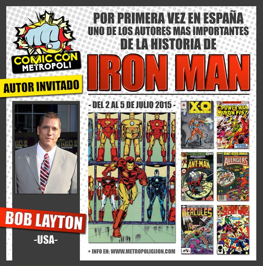 Bob Layon en #MGCC15