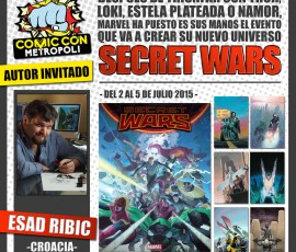Exposición Marvel Secret Wars de Esad Ribic