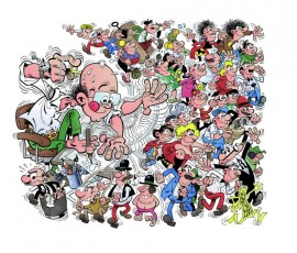 Exposición de Francisco Íbañez (Mortadelo y Filemón)