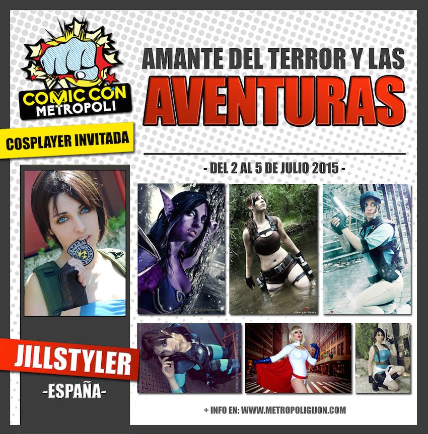Jill Styler en Metrópoli Comic Con 2015