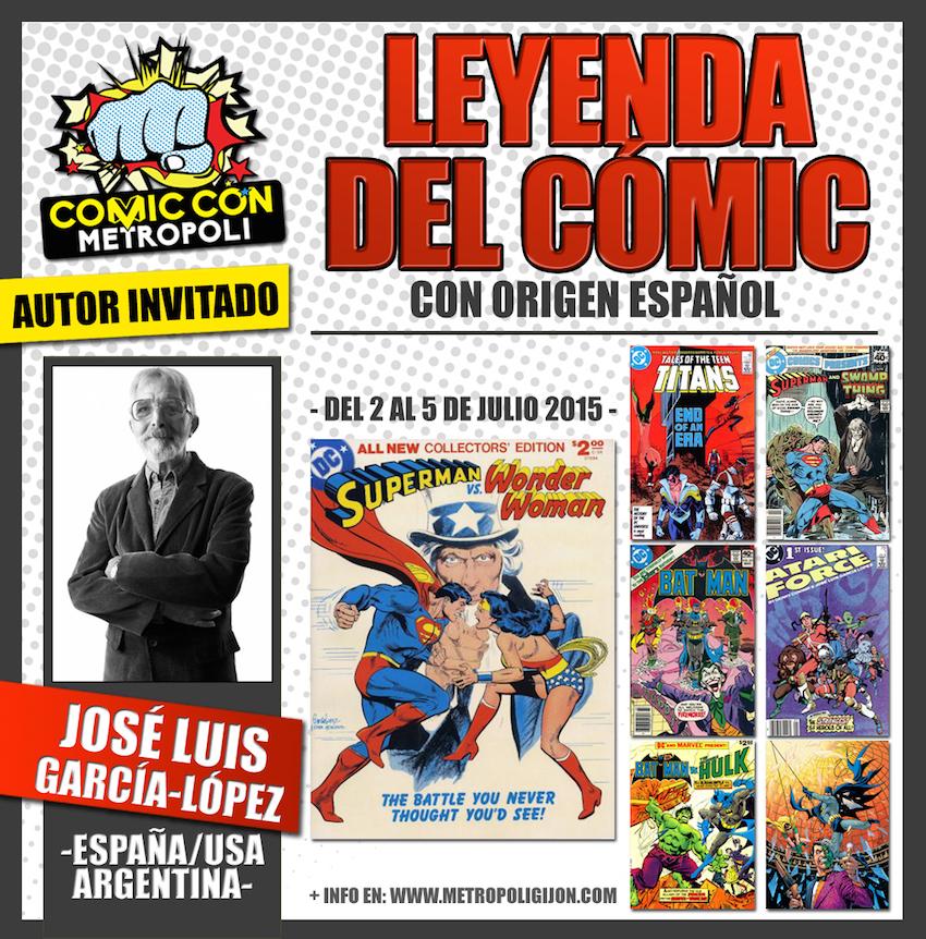 Jose Luis García-López en Metrópoli Comic Con