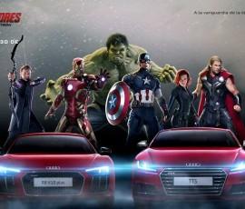 Audi, coche oficial de Los Vengadores: La Era de Ultron
