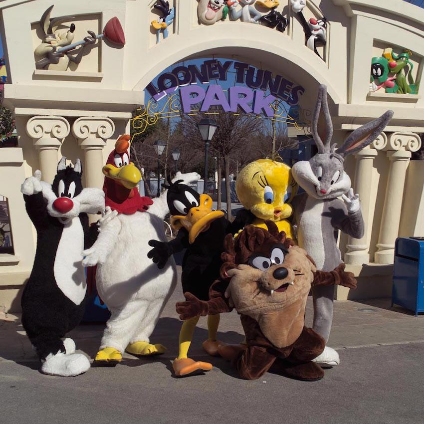 Looney Tunes de Parque Warner #metropoli2015