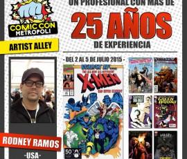 Artis Alley de Metrópoli Comic Con #MGCC15