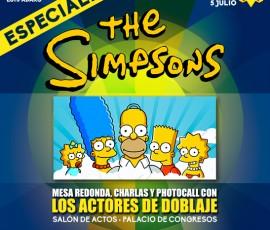 Especial Los Simpson en Metrópoli Gijón 2015