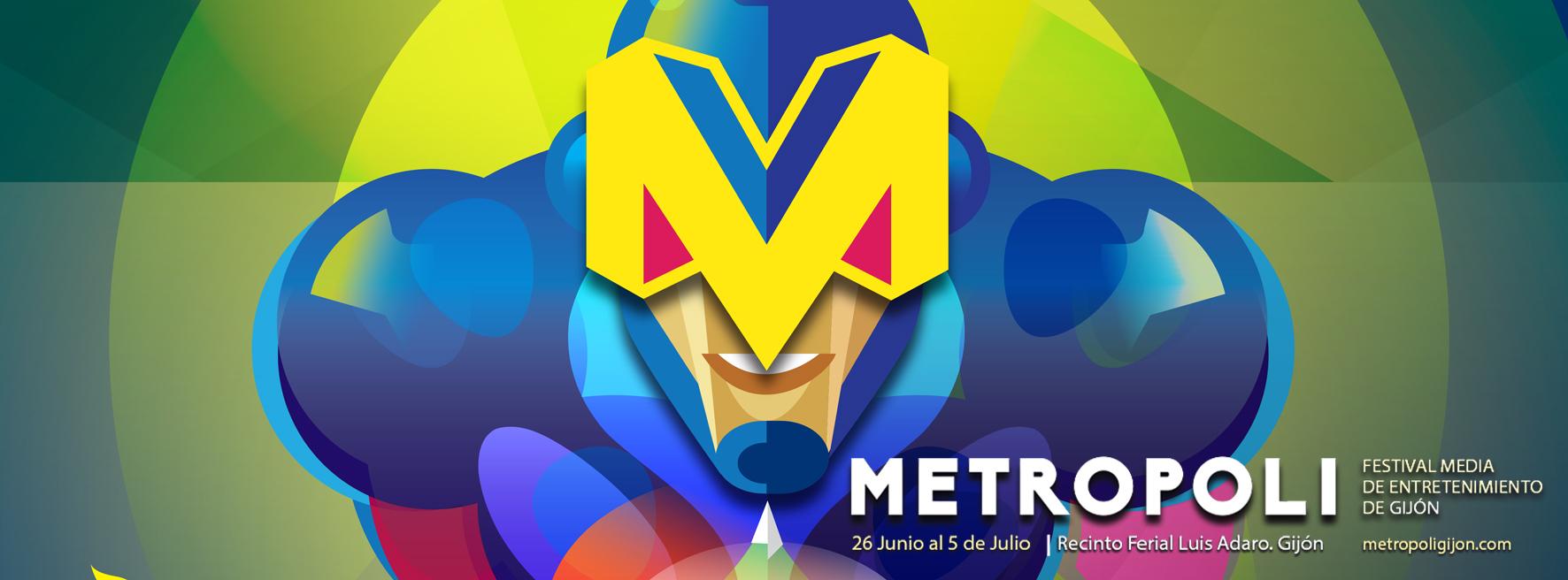 Metrohero, cartel de Metrópoli Gijón 2015