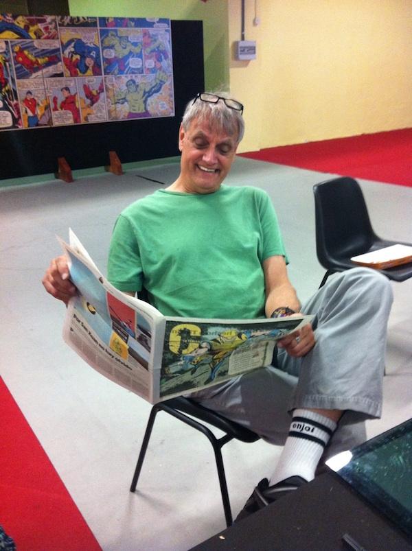 Herb Trimpe en Metrópoli Comic Con 2014