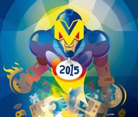 METROHERO, cartel oficial de #Metrópoli2015