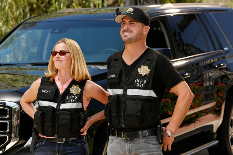 """""""Road To Recovery"""" -- The CSI team investigates the death of a woman full of alcohol and drugs in a pool at a rehab facility, on CSI: CRIME SCENE INVESTIGATION, Sunday, Nov. 23 (10:30-11:30, ET/PT), on the CBS Television Network. Photo: Robert Voets/CBS ©2014 CBS Broadcasting, Inc. All Rights Reserved"""